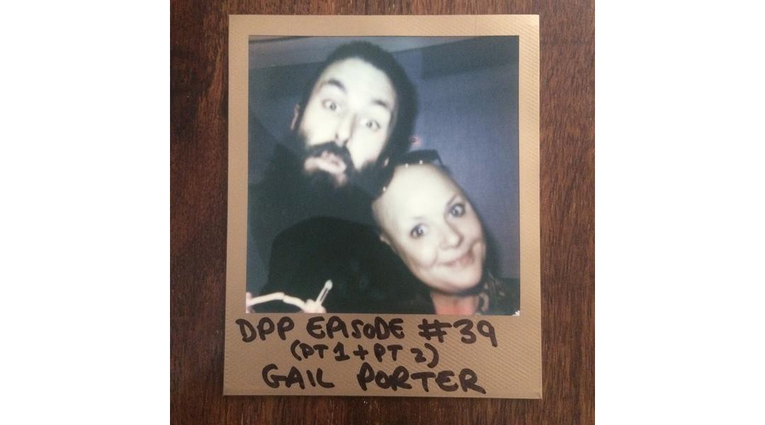 Scroobius Pip and Gail Porter