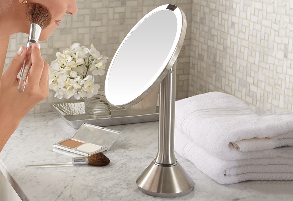 simplehuman-sensor-mirror-sharper-image-in-the-most-amazing-as-well-as-interesting-simplehuman-vanity-mirror